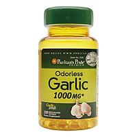 Thực Phẩm Chức Năng - Dầu Tỏi Không Mùi Tăng Cường Miễn Dịch, Giảm Cholesterol Odorless Garlic 1000Mg (100 Viên)