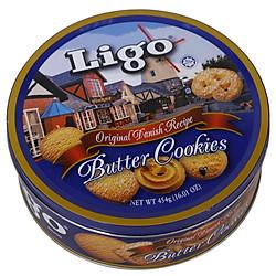 Bánh Quy Bơ Ligo 454g
