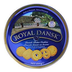 Bánh Quy Bơ Royal Dansk Blue Hộp Thiếc (454g)