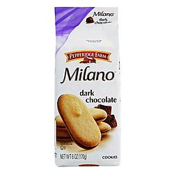 Bánh Milano Vị Socola Đen Pepperidge Farm (170g)