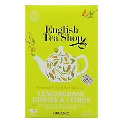Trà Organic Lemongrass Ginger Và Citrus Fruits English Tea Shop
