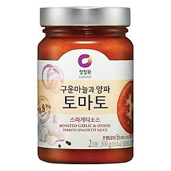 Sốt Mì Spaghetti Vị Cà Chua Hành Tỏi Nướng Miwon (300g)