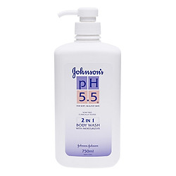 Sữa Tắm pH 5.5 Johnson's 2in1 (750ml)