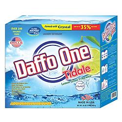 Bột Giặt Daffo One Tidale Hương Cỏ Chanh (454g)