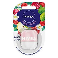 Son Dưỡng Ẩm Nivea Lip Pop-Ball Raspberry& Red Apple 85129 (7g)