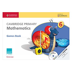 Cambridge Primary Mathematics 6: Games Book with CD-ROM