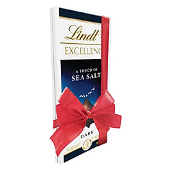 Bộ Thanh Socola Lindt Excellence Sea Salt (100g) + Lindt Excellence Mint Intense (100g) - Phiên Bản Cột Nơ