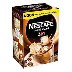 Hộp 10 Gói Nescafé Cà Phê Sữa Đá 3in1 (20g / Gói)