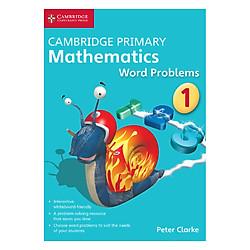 Cambridge Primary Mathematics 1: Word Problems DVD-ROM
