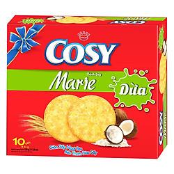 Bánh Quy Cosy Marie Vị Dừa (10 Gói x 32g)