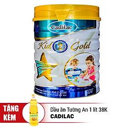 Sữa Cadilac Kid 2 Gold 900g