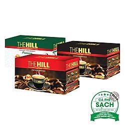Combo 3 Hộp Cà Phê Hòa Tan The Hill Coffee Premium