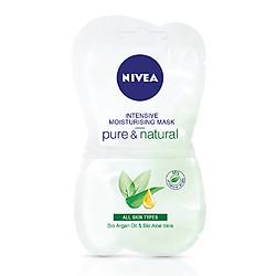 Mặt Nạ Nivea Thư Giãn Pure & Natural (15ml) - 82318