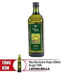 Dầu Oliu Pomace Latino Bella (1L) - Tặng Kèm Dầu Oliu Extra Virgin Latino Bella 250ml Trị Giá 105K
