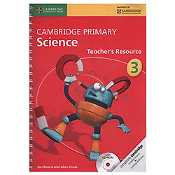 Cambridge Primary Science 3: Teacher Resource Book with CD-ROM