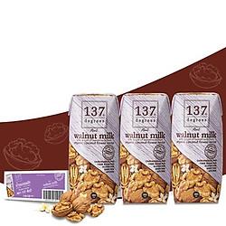 Lốc 3 Hộp Sữa hạt óc chó 137 Degrees vị truyền thống (180ML)