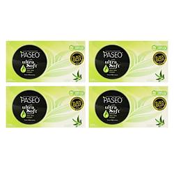 Combo 4 Hộp Khăn Giấy Hộp Aloe Vera Paseo