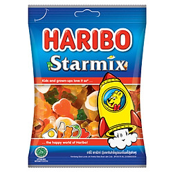 Kẹo Dẻo Haribo Star Mix (80g)