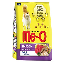 Đồ Ăn Cho Mèo Trưởng Thành Me-O Hương Vị Hải Sản - 450g