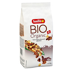 Ngũ Cốc Sạch Hỗn Hợp Vị Socola Organic Choco - Amaranth Crunch Familia (375g)