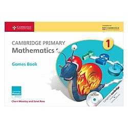Cambridge Primary Mathematics 1: Games Book with CD-ROM
