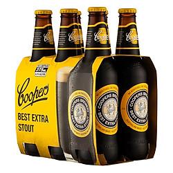 Lốc 6 Bia Cooper Best Extra Stout (330ml / Chai)