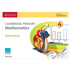 Cambridge Primary Mathematics 4: Games Book with CD-ROM