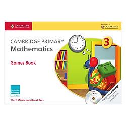 Cambridge Primary Mathematics 3: Games Book with CD-ROM