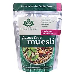 Hỗn Hợp Ngũ Cốc Gluten Free Muesli Brookfarm (300g)