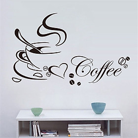 Decal Ly Cafe Lala Shop DC1085 - Mẫu 6 (40 x 65 cm)