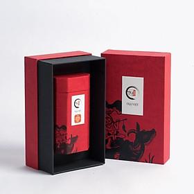 Hộp quà tặng Trung Thu giấy Tâm Phúc Trà Việt - Trà Tuyết