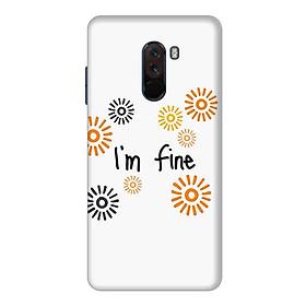 Ốp Lưng Dành Cho Điện Thoại Xiaomi Pocophone F1 Mẫu 78