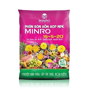 Hình đại diện sản phẩm Phân bón hổn hợp NPK Minro 15-5-20 (1kg)