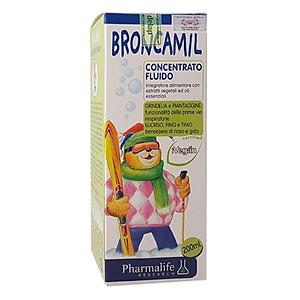 Hình đại diện sản phẩm Thực Phẩm Chức Năng Thảo Dược Trị Ho Cao Cấp 3 Trong 1 Broncamil Bimbi (200ml)