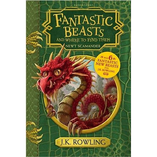 Fantastic Beasts And Where To Find Them: Hogwarts Library Book  = 214.500 ₫