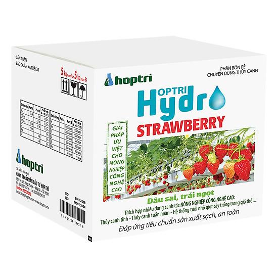 Hình đại diện sản phẩm Dinh Dưỡng Thủy Canh Dâu Tây Hydro Leafy Hfarm-009 (10kg)