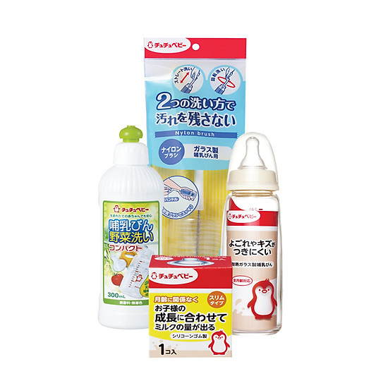 Combo Bộ Bình Sữa Cho Bé Chuchu Baby 1