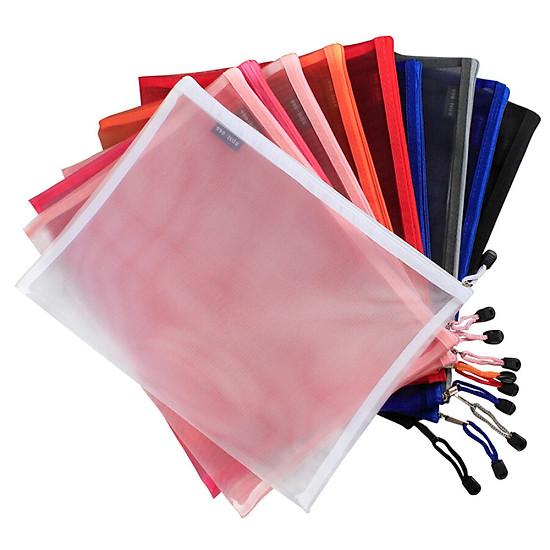 Hình đại diện sản phẩm Bộ 20 túi đựng đồ du lịch bằng nhựa có khóa zip, kích thước 24x35cm-Jing Hui Si Chong JH0157