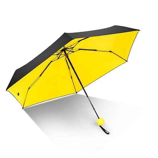 Hình đại diện sản phẩm iRain Umbnella Sunscreen Pocket Umbrella Ultra Light Umbrella Folding UV Umbrella Umbrella Parasol Yellow
