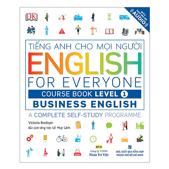 English For Everyone - Business English - Course Book Level 1 (Kèm 1 Đĩa CD - Room)