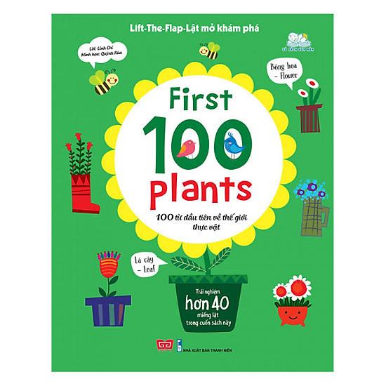 Sách Lift the Flap - 100 từ đầu tiên về thế giới thực vật