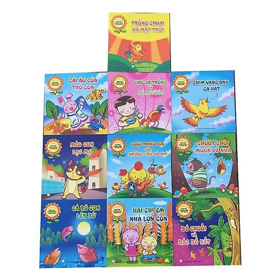 Truyện tranh giáo dục kỹ năng sống cho trẻ em ( 10 cuốn)
