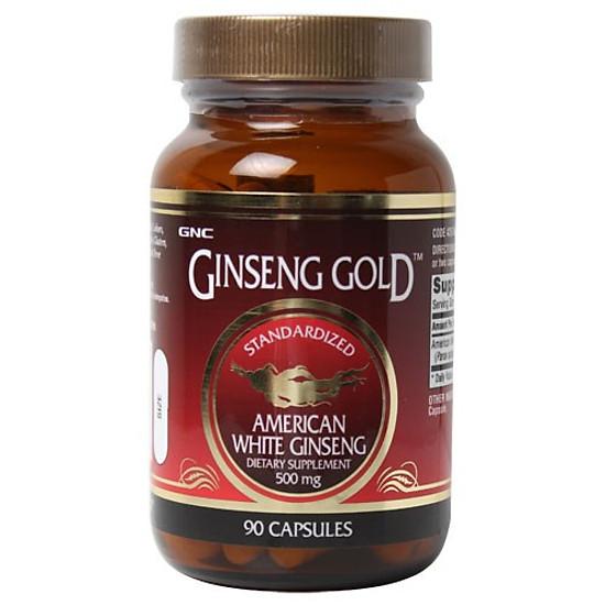 Hình đại diện sản phẩm Thực Phẩm Chức Năng Giúp giảm mệt mỏi, tăng sức đề kháng GNC American White Ginseng (90 viên/Hộp)