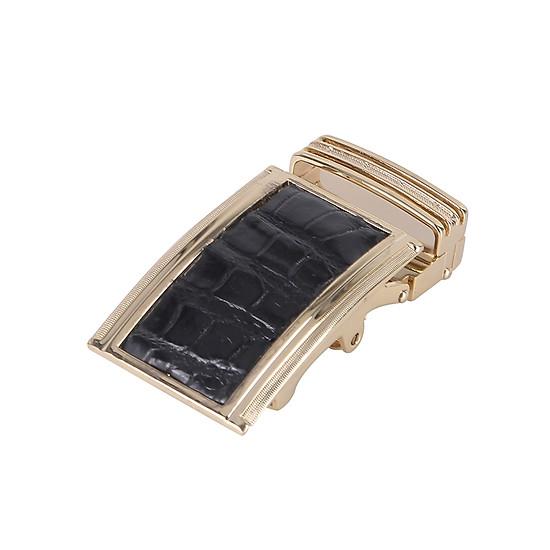 Đầu Khóa Da Cá Sấu 4 Phân Đầu Vàng Huy Hoàng HT9221 – Đen  = 99.000 ₫