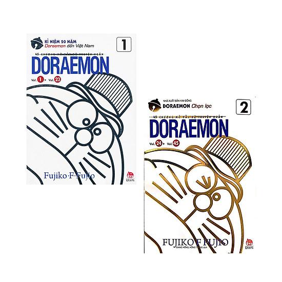 Combo Doraemon - 45 Chương Mở Đầu Bộ Truyện Ngắn (2 Tập)