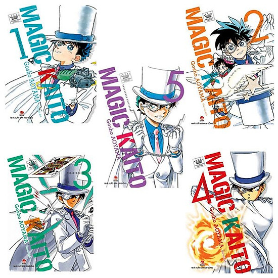 Combo 5 cuốn Magic Kaito
