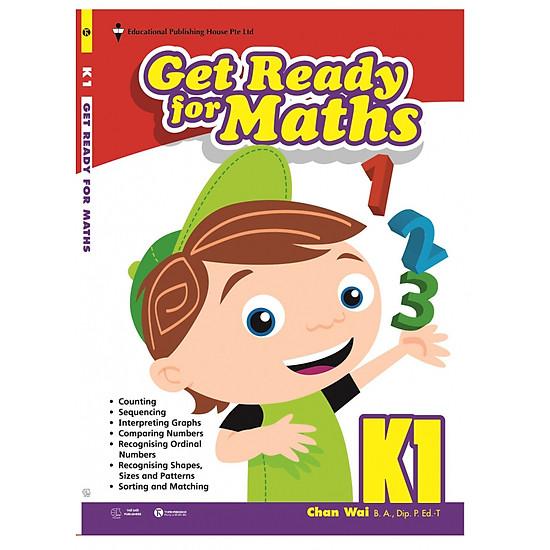 SGK Toán Singapore lớp mẫu giáo - K1 Get Ready for Maths