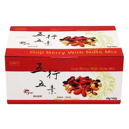 Hình đại diện sản phẩm Quả Goji Berry Khô Goji Berry with Mixed Nuts Magifra