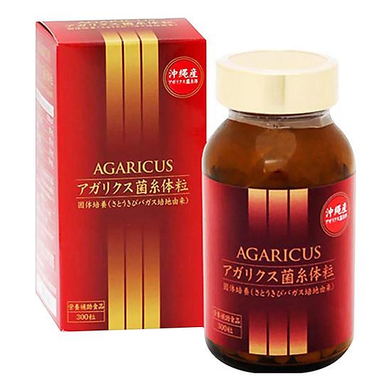 Hình đại diện sản phẩm Thực Phẩm Chức Năng Viên Thể Nấm Agaricus Kanehide Bio (300 viên/hộp)