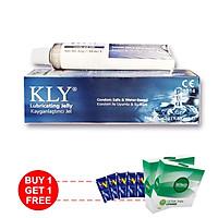 Gel bôi trơn KLY ( 42gram ) - Tặng 1 hộp BCS Tâm Thiện Chí Ultrathin Longer và 10 gói gel VIP